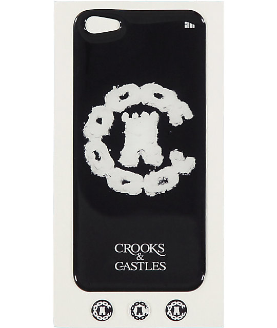 Crooks And Castles Coca White iPhone 5 Case