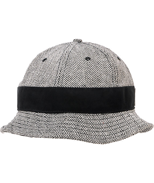 Crooks And Castles Herringbone Bucket Hat  f598defef39