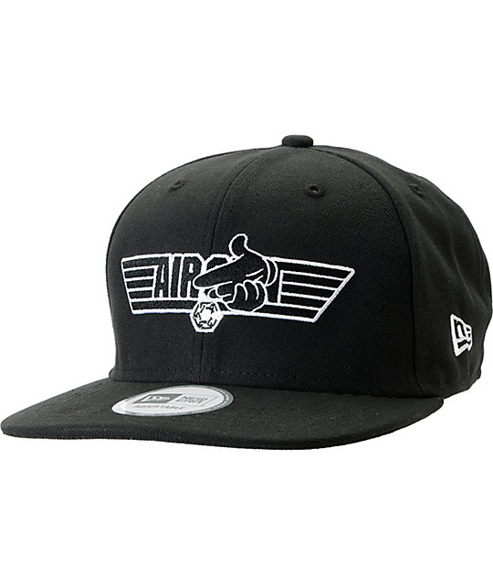 Crooks and Castles Air Wing Black New Era Snapback Hat