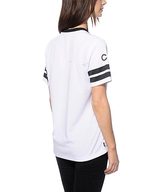 Crooks and Castles All City jersey de fútbol americano blanco | Zumiez