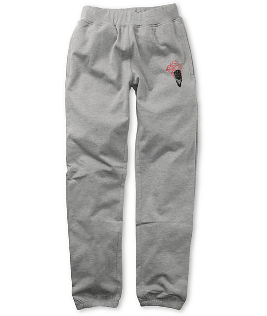 Crooks and Castles Bandito Grey Sweatpants