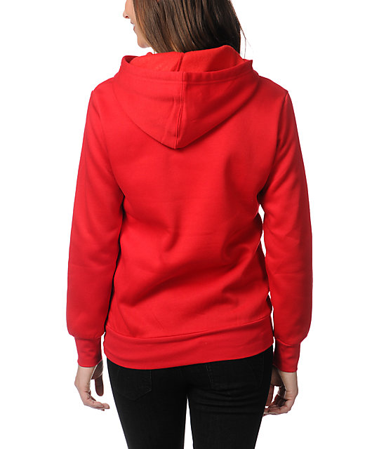 Crooks and Castles Core Logo Red Pullover Hoodie