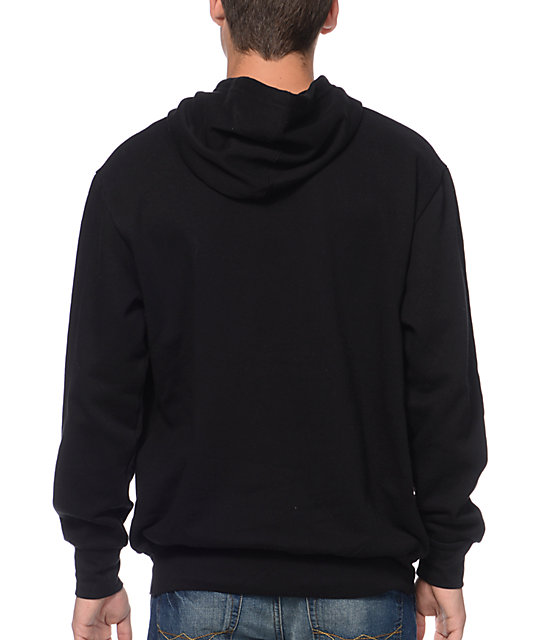 Crooks and Castles Core Snake Black Pullover Hoodie