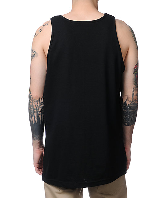 Crooks and Castles Decade Of Excellence Black Tank Top