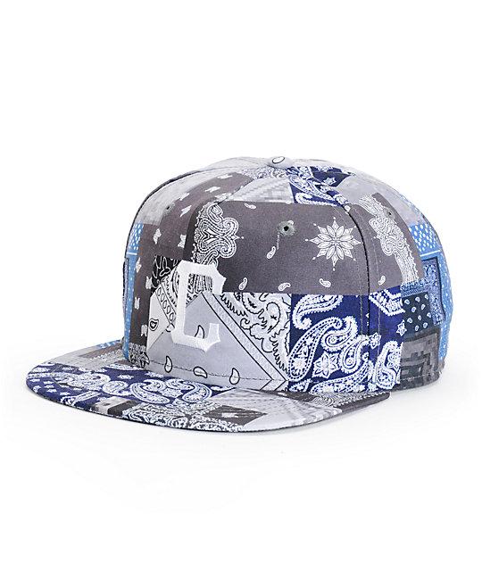 Crooks and Castles Luxe Bandit Snapback Hat  70ea843077e