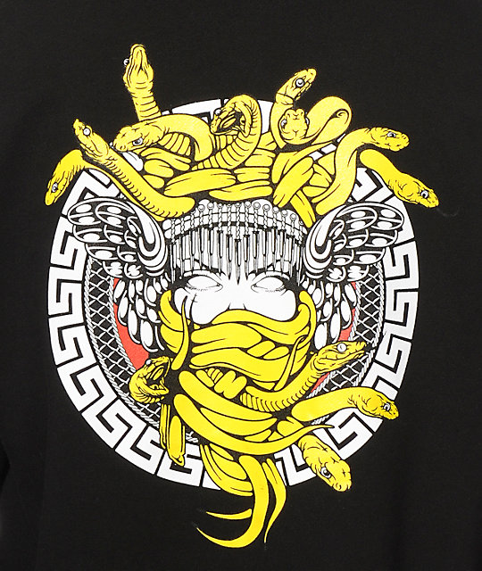 crooks and castles medusa back hit hoodie zumiez