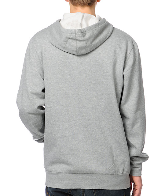 Crooks and Castles Union Airgun Grey Pullover Hoodie