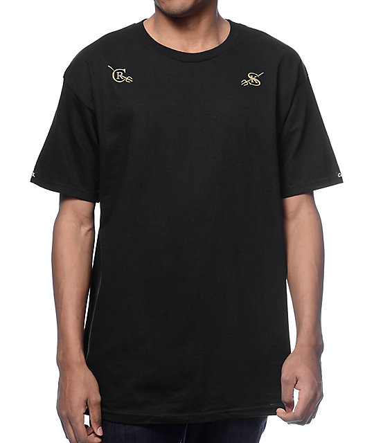 Crooks and Castles Watchful Black T-Shirt