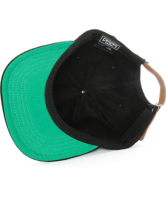 Crooks and Castles Woven Strapback Hat
