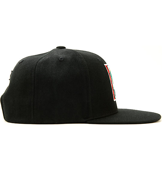 ... Cross Colours High Crown Snapback Hat 1a146330b66