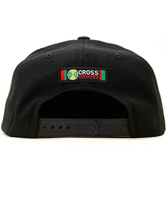 ... Cross Colours High Crown Snapback Hat ... 9fa8c26a03c