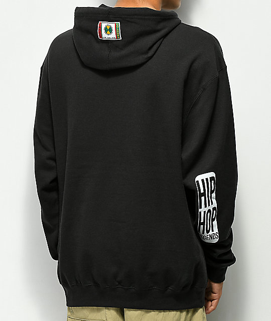 Cross Colours Left Eye Shooter Black Hoodie