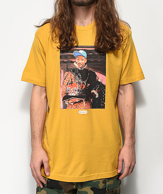 Cross Colours Royalty Fresh Prince Gold T-Shirt