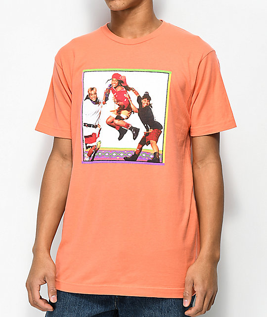 Cross Colours TLC Jump Coral T-Shirt