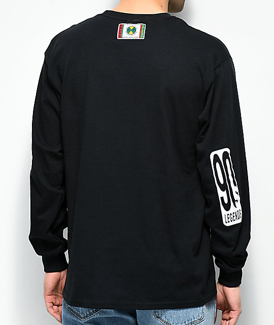 Cross Colours Will Dinner Black Long Sleeve T-Shirt