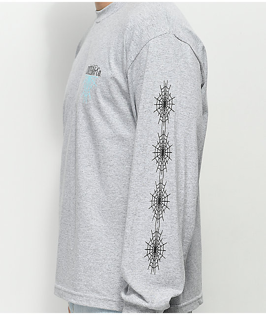 Cruizer & Co. New Web Grey Long Sleeve T-Shirt