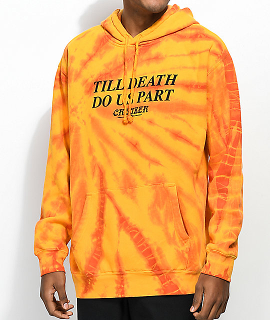 Cruizer & Co. Player Orange Tie Dye Hoodie