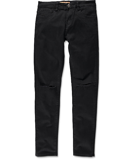 Crysp Daily Black Jeans