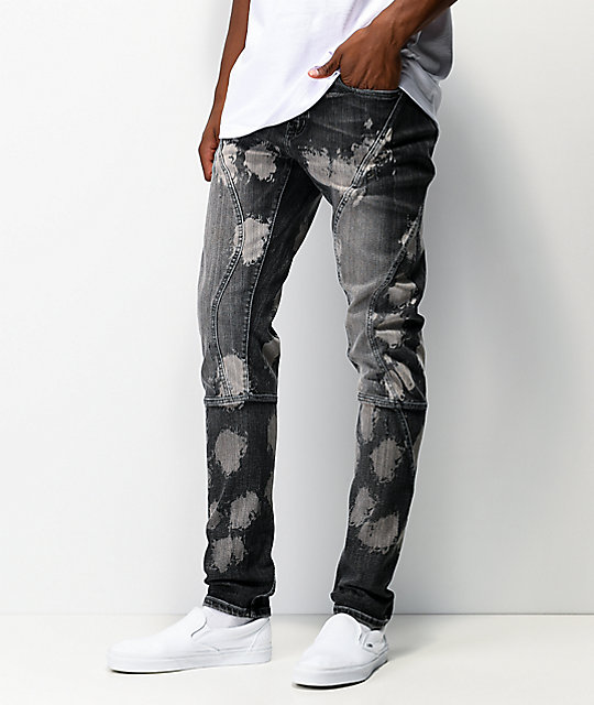 Crysp Delphin Charcoal Wash Jeans