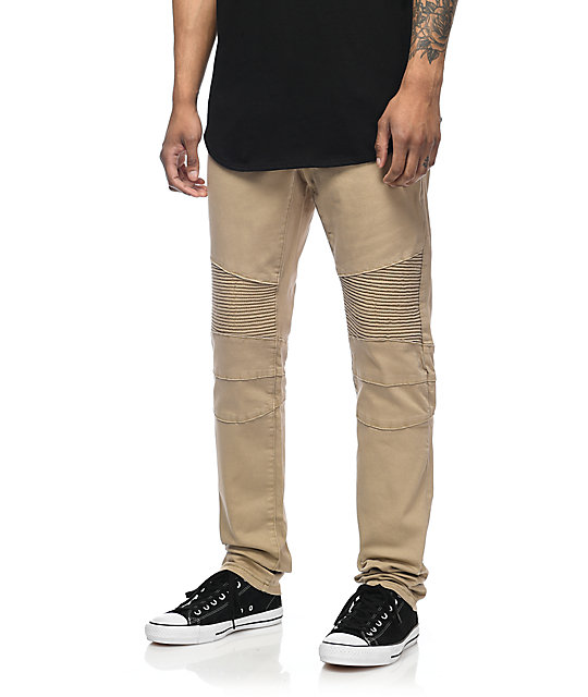 09fa0e6e282275 ... Crysp Denim Jordan Moto Khaki Twill Pants ...