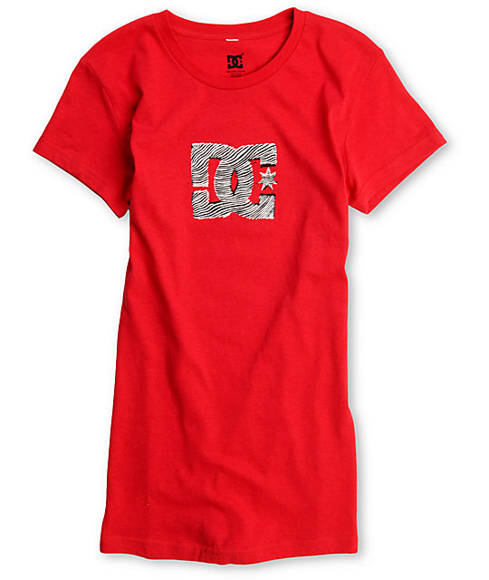 DC Animal Red T-Shirt