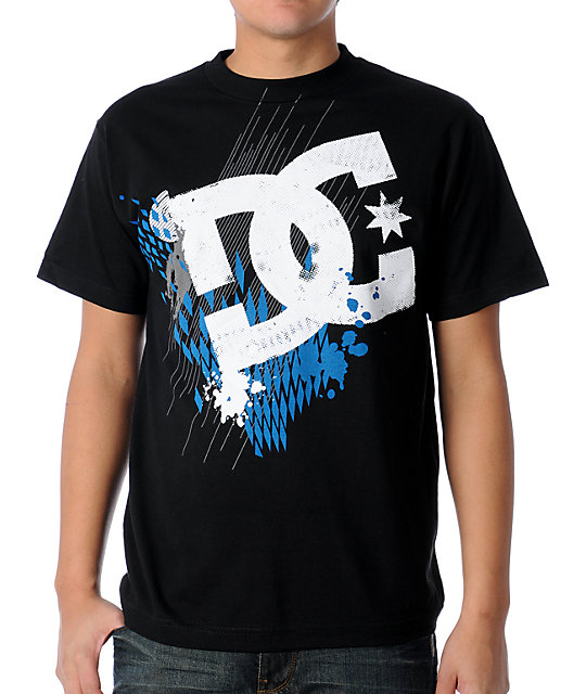 DC Back Black T-Shirt