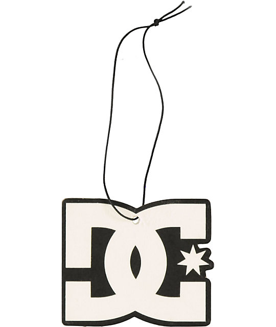 DC Black & White Logo Air Freshener