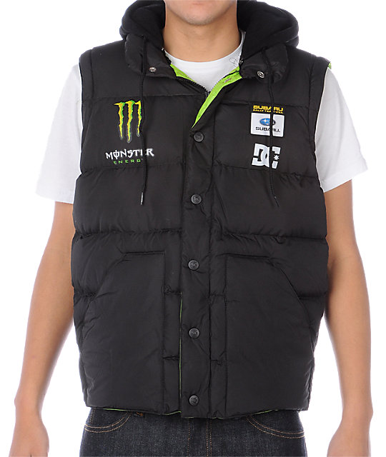 DC Block Black Vest-Jacket