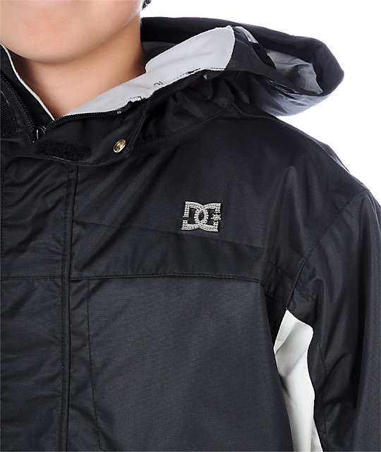 DC Boys Amo Black Snowboard Jacket