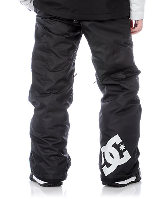 DC Boys Banshee Black Snowboard Pants