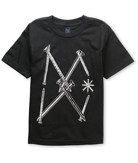 DC Boys Nails Black T-Shirt