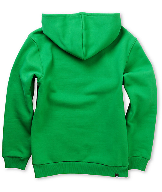 DC Boys Star Green Pullover Hoodie