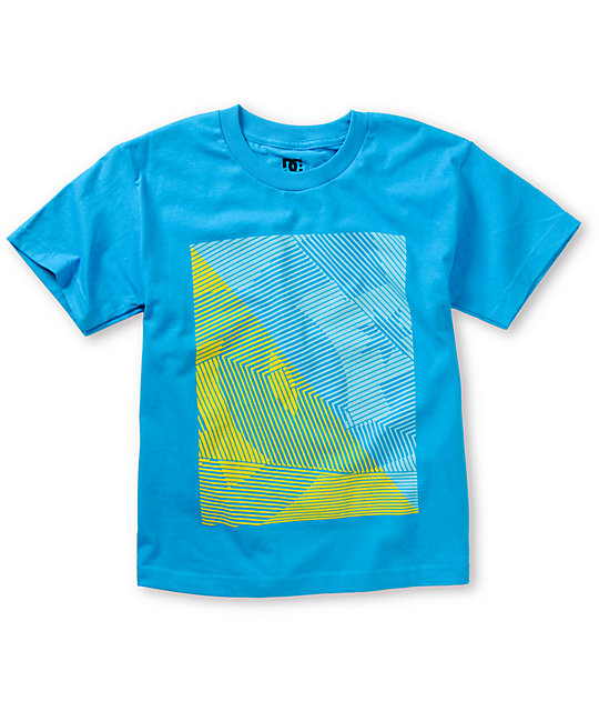 DC Boys Total Blue T-Shirt