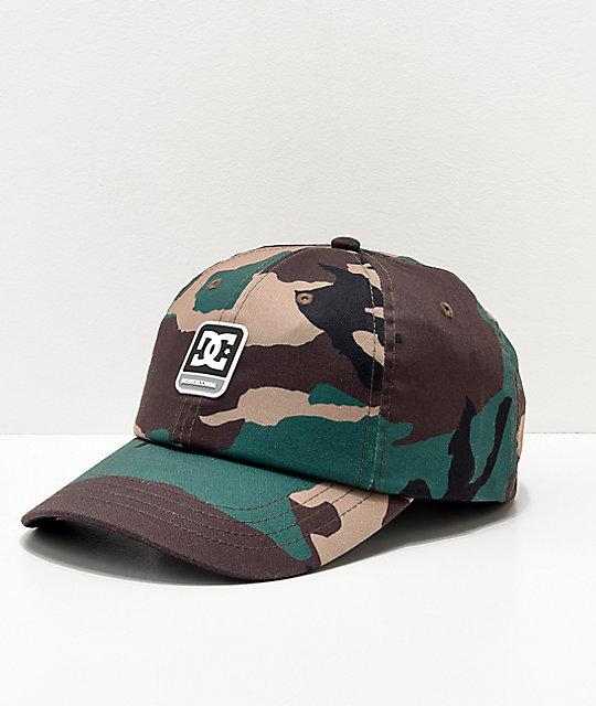 DC Camolit Strapback Hat  e02b29a0d97f