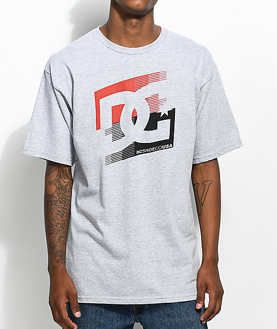 DC Cascade Grey T-Shirt