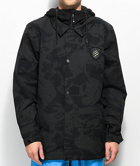 Cash Snowboard Black Only 10k Dc Se Jacket Camo d4Yw8g