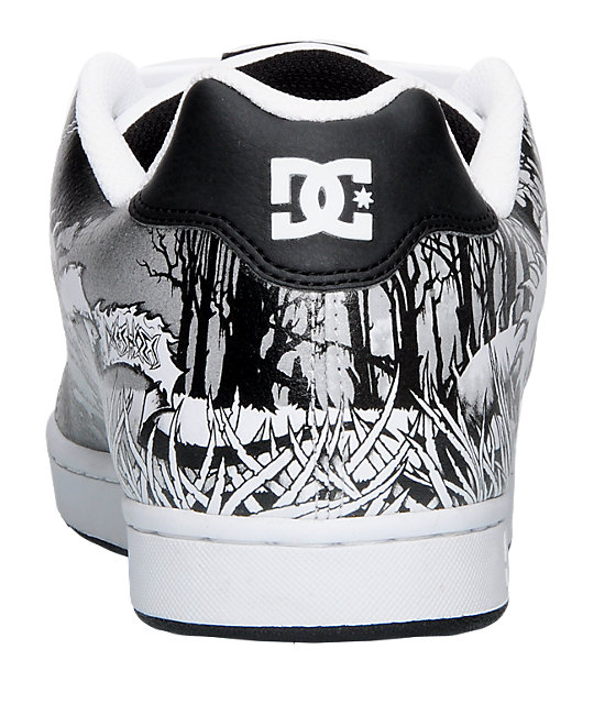 DC Character White & Carbon Shoes