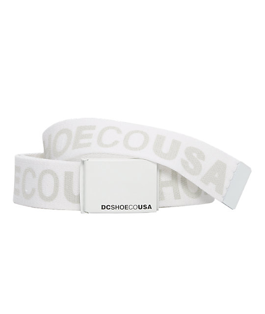 DC Chinook V White Web Belt