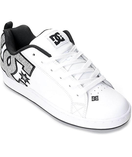 ca womens amp; Shoes Graffik White Dc Court Zumiez Se Charcoal qZz70Iw
