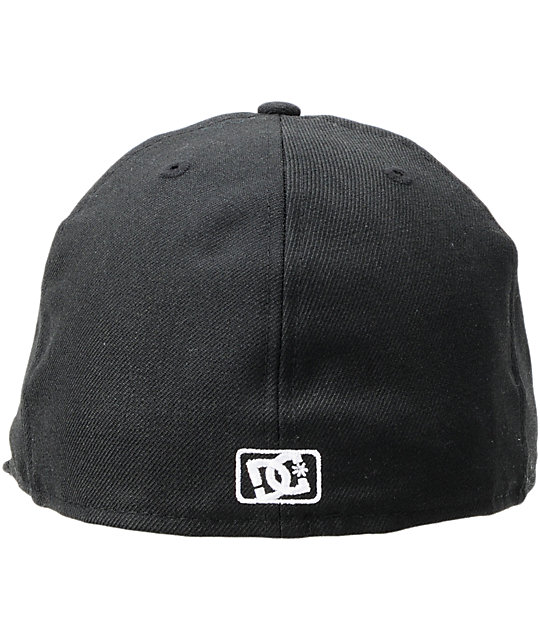 8a56cf3d DC Coverage Black New Era 59Fifty Fitted Hat | Zumiez