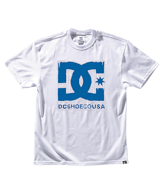 DC Denatured White UV Change T-Shirt