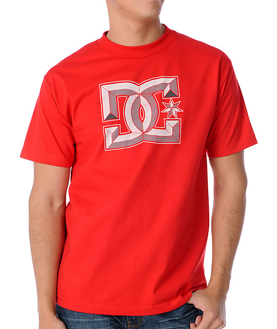 DC DiMensional Red T-Shirt