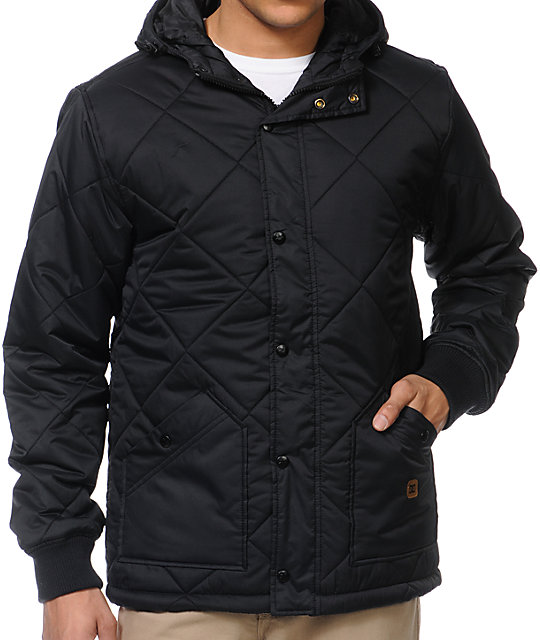 DC Diamond Black Casual Jacket