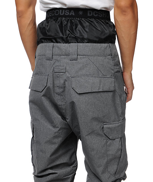 DC Donon Shadow Grey 15K Snowboard Pants