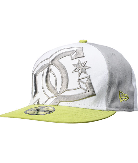 DC Dyrdek Mid-Fitted White New Era Hat