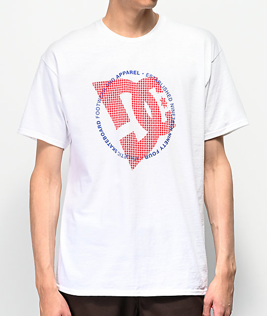 DC Fourtex White T-Shirt