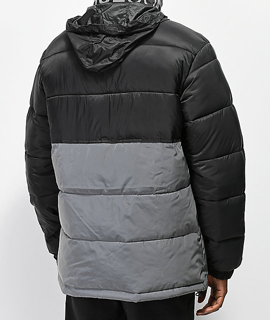 DC Gosforth Black Puffer Jacket