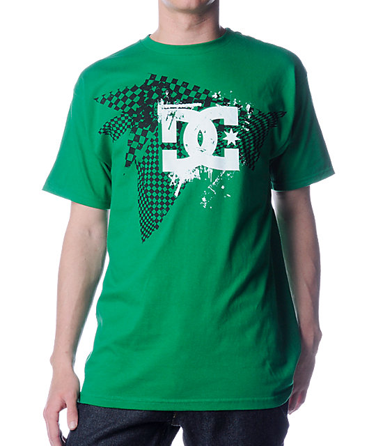 DC Keep Checkin Green T-Shirt