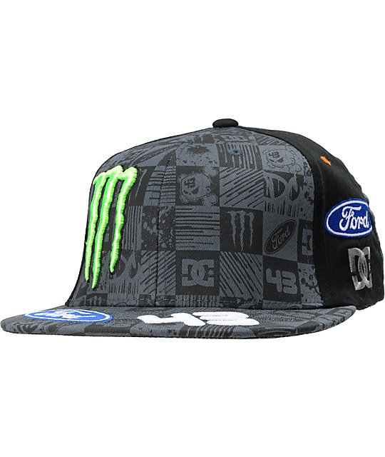 DC Ken Block Brake Black FlexFit Hat