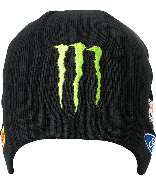 DC Ken Block Ford Black Beanie
